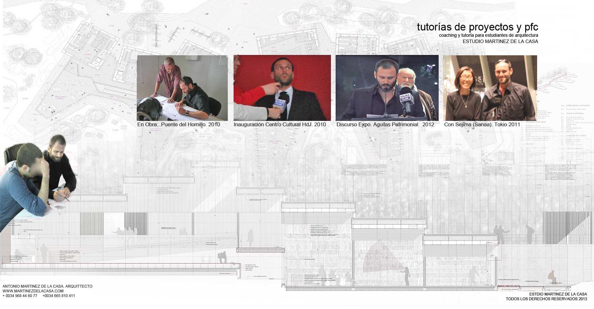 Tutor as de proyectos y pfc arquitectura Asignaturas de la carrera de arquitectura