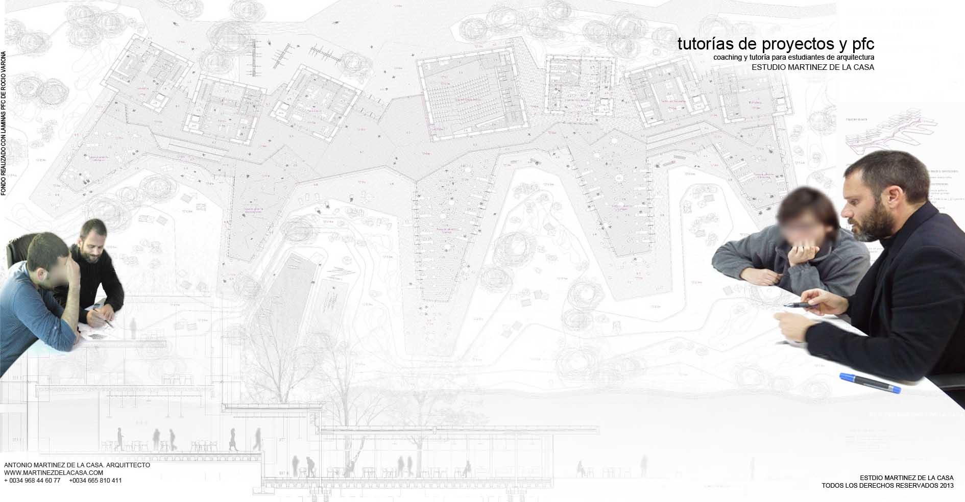 Tutor As De Proyectos Y Pfc Arquitectura